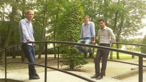 Les trois co-fondateurs de Busit