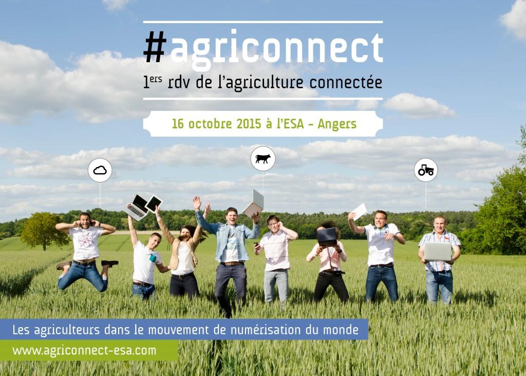 1er rdv de l'agriculture connectée.