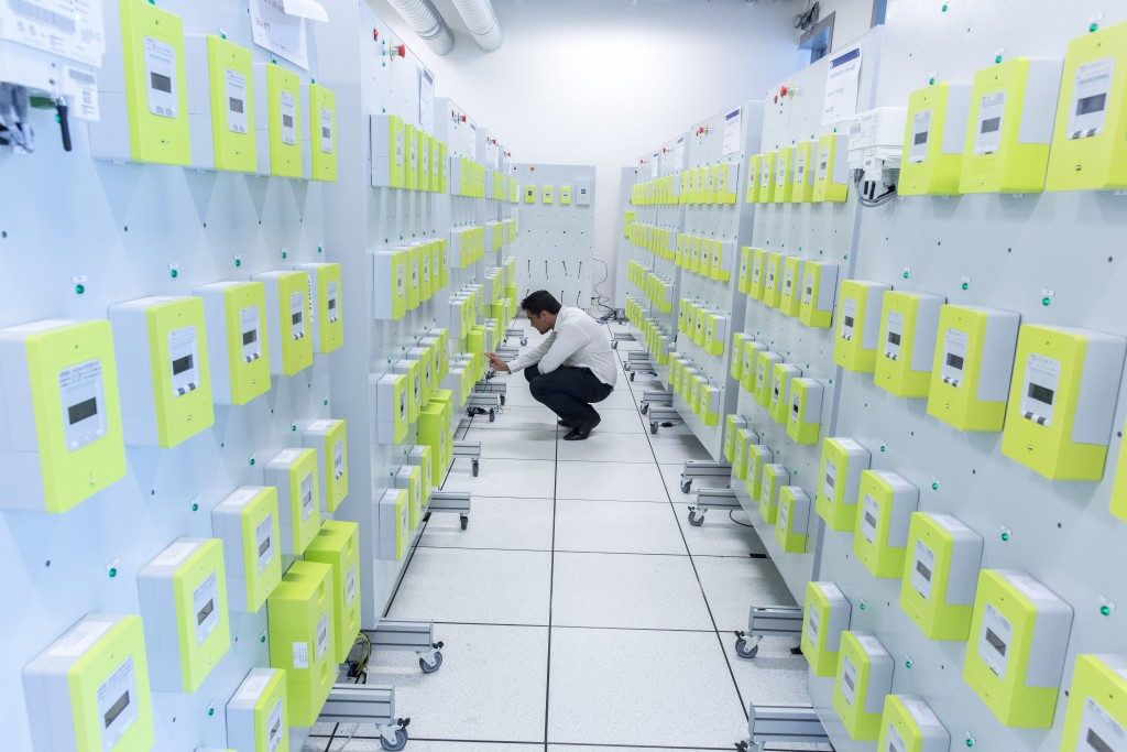 Le laboratoire de qualification du matériel Linky (Linkylab) - Essais de tests sur le matériel (compteur / branchement / oscilloscope)